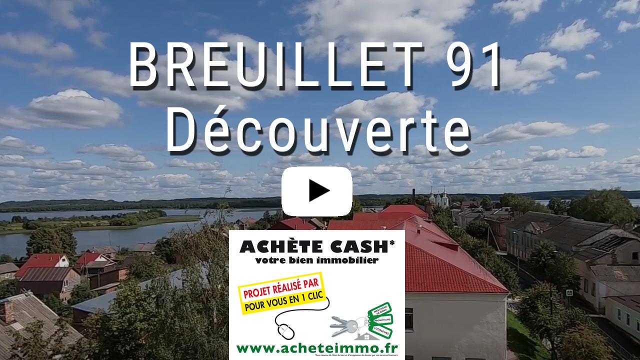 BREUILLET 91 DECOUVERTE